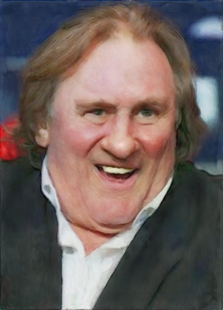 Gérard Depardieu by baudet